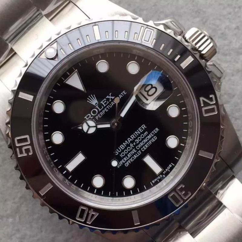 black-submariner-116610-ln-v6s-super-copy-with-3135-movement